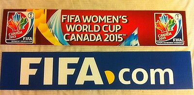 2 Fifa Women World Cup 2015 Vancouver Final Match Team  Bench Banners