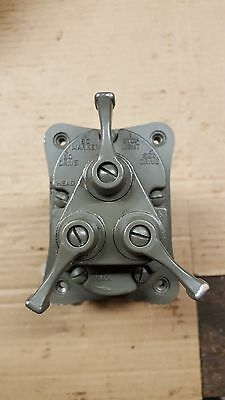 Jeep Willys M38 M38A1 Early 2 Plug 24 Volt Light Switch Assy NOS M37 M-series