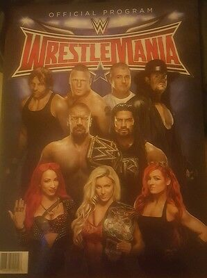 Wwe Wrestlemania 32 & Hall Of Fame Official Program
