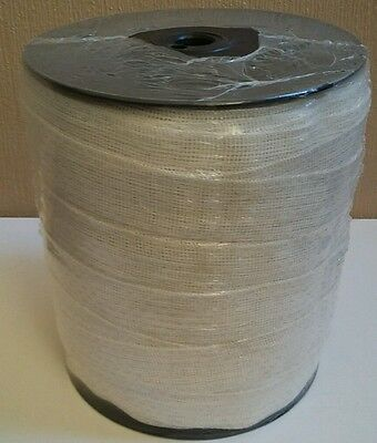 40mm Poly Tape Electric Fence x 200m White
