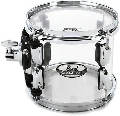 "Pearl Crystal Beat Mounted Tom - 8"" - Ultra Clear"