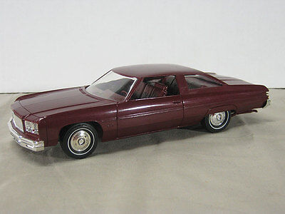 1975 Chevy Caprice HT Promo, graded 9 out of 10.  #14974