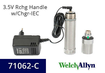 Welch Allyn POWER SOURCES 3.5V RCHG HANDLE W/CHGR-IEC Welch Allyn 220V  71062-C