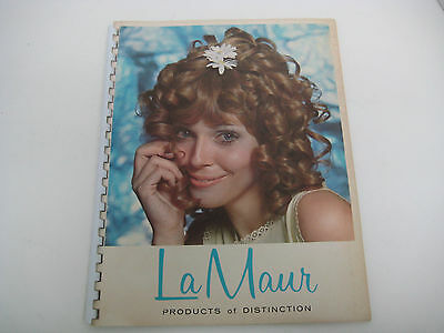 Vtg Hair Beauty Salon Booklet promotional appointment BOOK from LaMaur 1960s