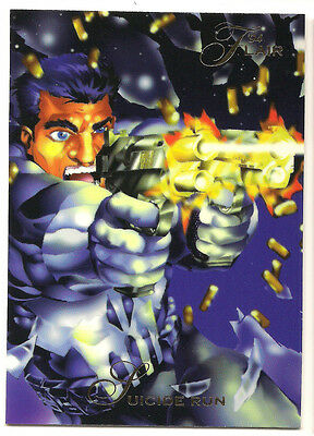 1994 Flair Marvel # 132 Punisher base Trading Card
