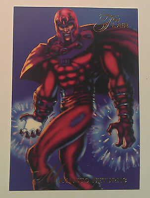 1994 Flair Marvel # 120 Magneto Trading Card