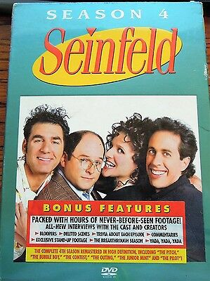 Seinfeld Series Volume 3: Complete Season 4 DVD Box Set Sealed