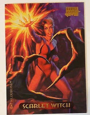 1994 Marvel Masterpieces # 105 Scarlet Witch