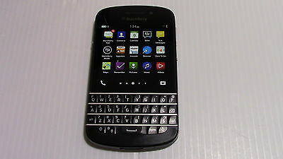 Unlocked Blackberry Q10 Smartphone Used in Good Condition SQN100-1 RFL111LW