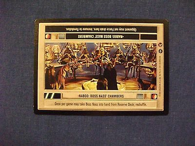 Star Wars CCG Theed Palace Master Destroyers NrMint-MINT SWCCG