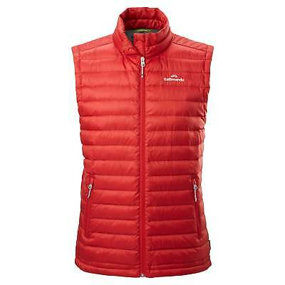 Kathmandu Heli Mens Lightweight Duck Down Warm Insultated Puffer Vest v2 Red