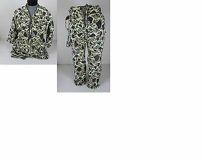 Vintage Redhead Camo Camouflage Full Body Hunting Fishing Coveralls Mens Size M