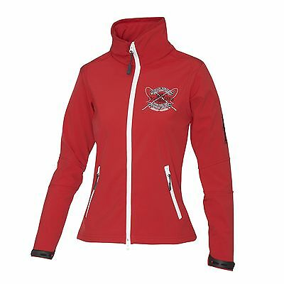 NEW Mountain Horse Ladies Tiffany Soft-shell Jacket - Red - Large