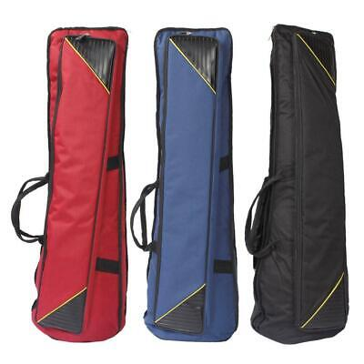 3 Colors Soft Gig Tenor Trombone Bag Lightweight Case Adjustable Shoulder Straps