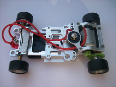 1:32 ALU Chassis als Kit f. Fly,Ninco,Carrera,Revell
