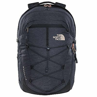 The North Face Damenrucksack Women's Borealis tnf black heather/rose