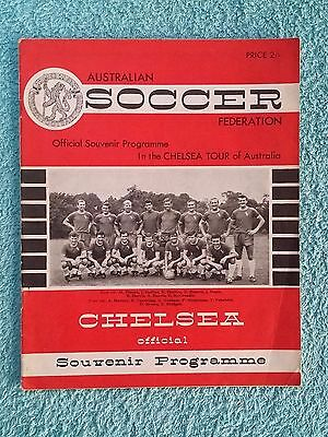 1965 - Chelsea Tour Of Australia Programme - Covering 10 Games