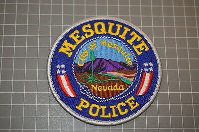 Mesquite Nevada Police Department Patch (B17-A)