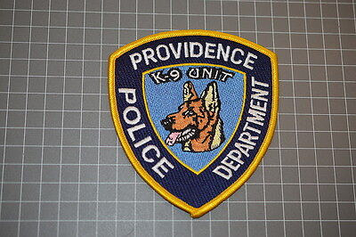 Providence Rhode Island Police Department K-9 Unit Patch (B17-A)