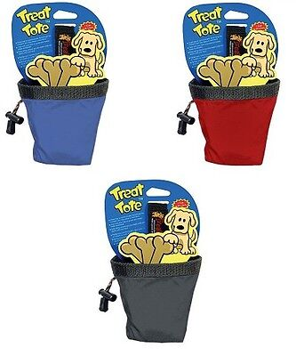 Canine Hardware Chuckit! Dog Training and Travel Treat Tote SMALL 4-inch