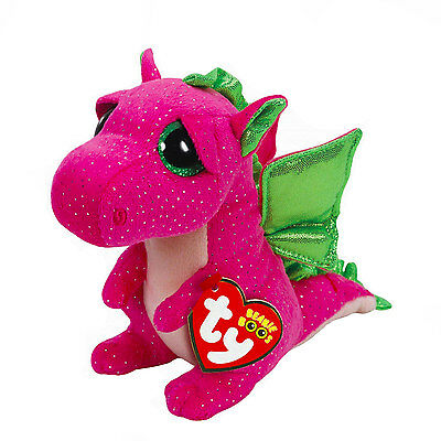 Claire's Girls and Womens Beanie Boos Small Darla The Dragon Plush Toy