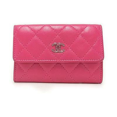 Authentic CHANEL Card Case 50169  #260-002-047-1521