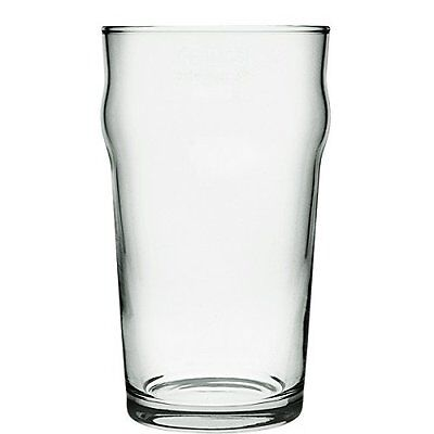 Nonic Pint Glasses 560ml / 20oz Set of 4 - Government Stamped CE Pint Glass