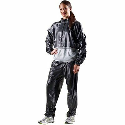 Performance Sauna Suit Sweat Track Clothes Anti Rip Gym Clothes Golds Gym New
