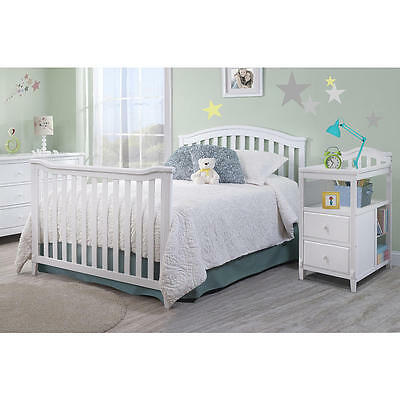 Sorelle Berkley Crib and Changer Full Size Conversion Kit - White