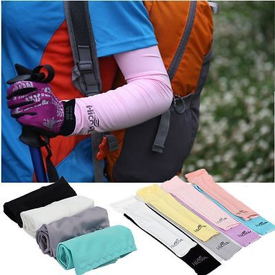 1Pair  Athletic Basketball Cover Cooling Arm Sleeves Sun UV Protection Sport
