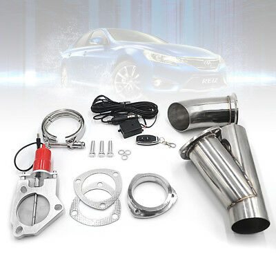 """3"""" Electric Exhaust Valve Catback/downpipe Cutout/e-Cut Out Intelligent System"""