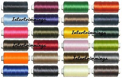 5000 MTR STRONG BONDED NYLON THREAD 40/'S NATURAL FREE P/&P UPHOLSTERY