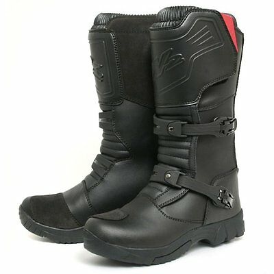 W2 TT Adventure Motorcycle Motorbike Leather Boots Clearance Sale