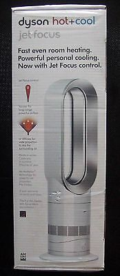 Dyson Am09 Hot + Cool Fan Heater Jet Focus Silver/white NEW SEALED!