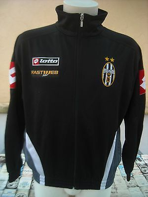 Felpa Calcio Juventus 2001/02 Lotto S Jacket Top Track Veste Sweat Jacke