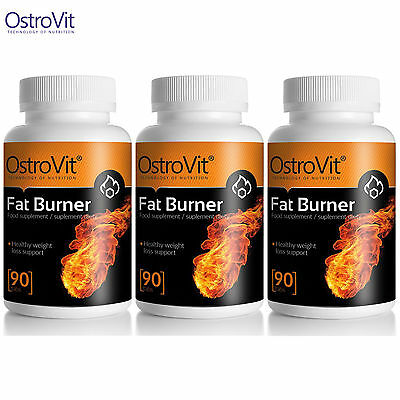 FAT BURNER 90-270 Caps. Thermogenic Fat Burner Energy Slimming Weight Loss Pills