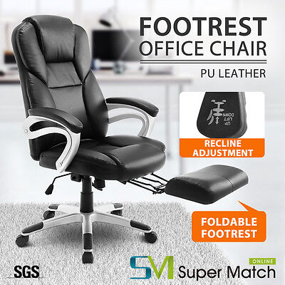 Office Gaming Chair Racing Seats Computer Chair Executive Footrest Recline Chair