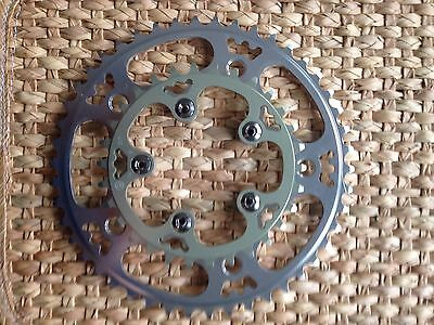 Willow Tripleizer Chainring Set - Compact Double - 46t/30t - Rivendell - 130 bcd