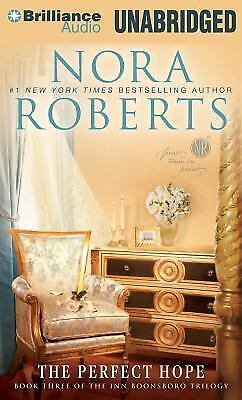 THE PERFECT HOPE unabridged audio book on CD by NORA ROBERTS