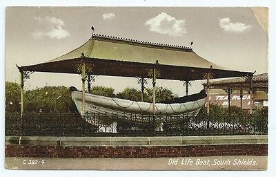 Vintage Postcard. Old Life Boat, South Shields. Unused. Ref:69329