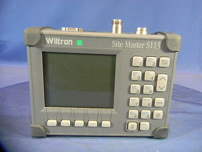 Wiltron S113 Cable and Antenna Analyzer 30 Day Warranty