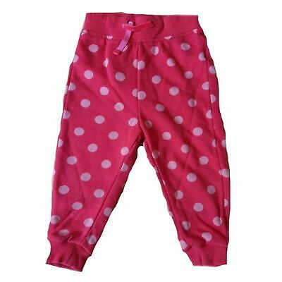 Red Spot Jogging Bottoms ages 2-3 4-5 yrs joggers tracksuit bottoms elasticated