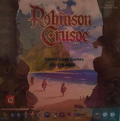 Robinson Crusoe Adventure on the Cursed Island 2E Board Game NEW Factory Sealed