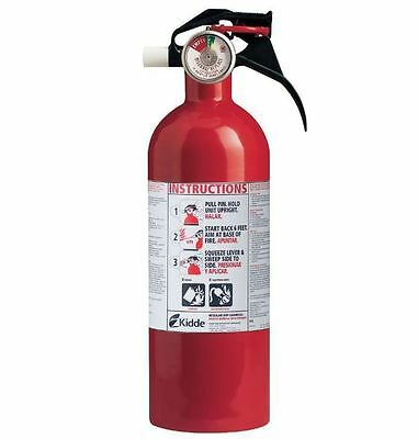 Kidde 5 B:C Fire Extinguisher - Compact for House or Car - Model # 21005944N