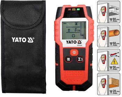 Yato professional stud finder metal pipe live cable detector (YT-73131)