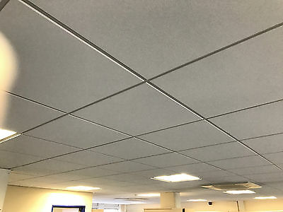 CEILING TILES OFFICE 600 x 600 WHITE**ONLY ONE YEAR OLD**NO DAMAGE OR MARKS**