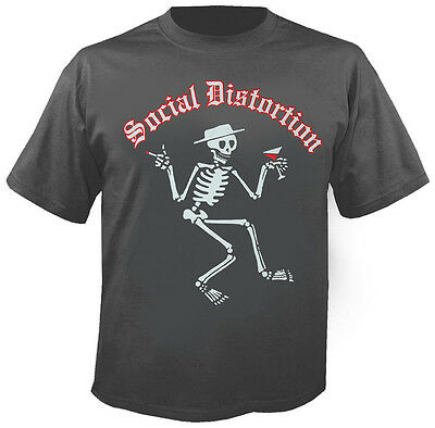 SOCIAL DISTORTION - Skelly Logo - T-Shirt