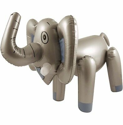 Inflatable Elephant 65Cm Blow Up Jungle Party Fancy Dress New Kids Novelty Gift
