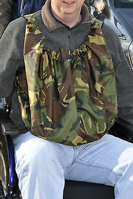 PackaPouch™ Wheelchair bag. Waterproof mobility equipment. Camouflage.