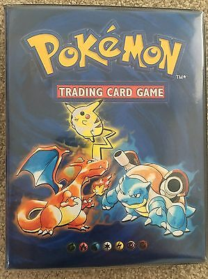 Original 1999 Pokemon Trading Card Folder/Album (holds 112 Cards)